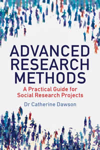 Advanced Research Methods including epistemology, methodology, methods and data analysis